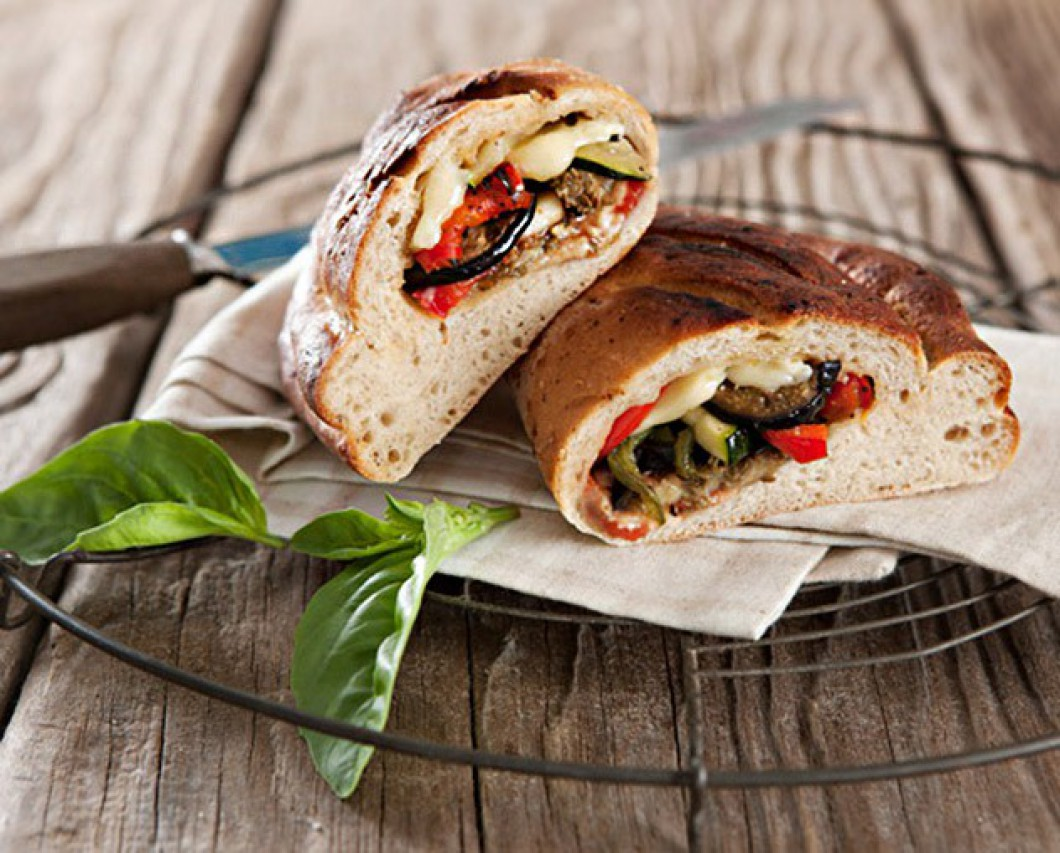 Roasted Vegetable Calzone